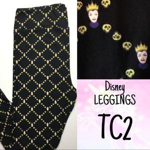 LuLaRoe TC2 Leggings DISNEY Villains Evil Queen